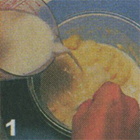cake tape almon