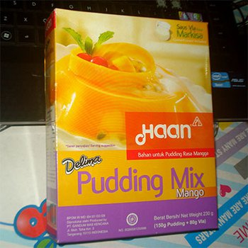 Haan Delima Pudding Mix Mango