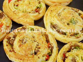 Beef Roll Pastry