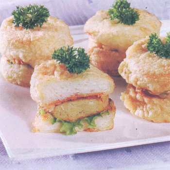 Burger Jagung Mini Goreng