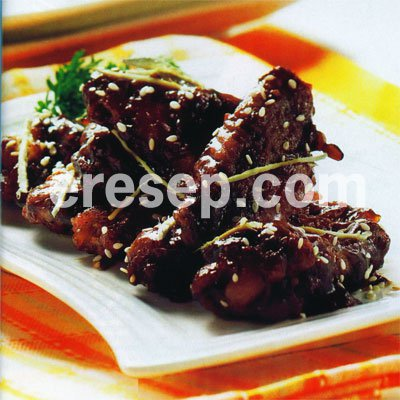 Chicken Wings Saus Teriyaki