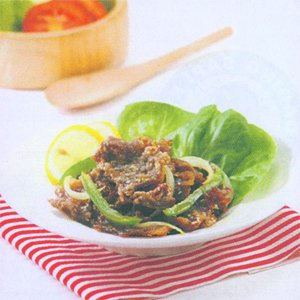 Daging Goreng Wijen Saus Lemon