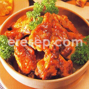 Hot Chicken Wings (Sayap Ayam Pedas)