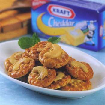 Cheese Peanut Butter Cookies