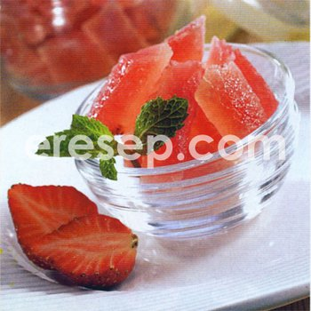 Manisan Jelly Strawberry