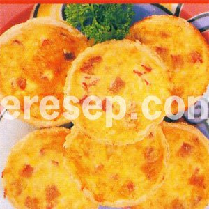 Quiche Jagung Daging Asap