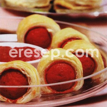 Sosis Gulung Pastry