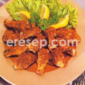 Super Hot Chicken Wings (Sayap Ayam Super Pedas)